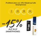 Nur heute: 15% Rabatt auf alle Smartphones bei siroop