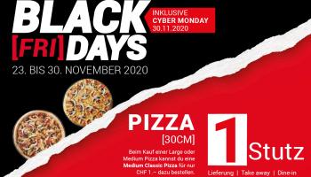 """2 für 1 Aktion """"1 Stutz""""-Pizza bei Telepizza"""
