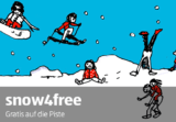 SNOW4FREE – Gratis Snowboard / Ski fahren am Mittwochnachmittag für 9-13 jährige