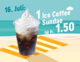 Nur heute: Ice Coffee Sundae für CHF 1.50 bei McDonalds