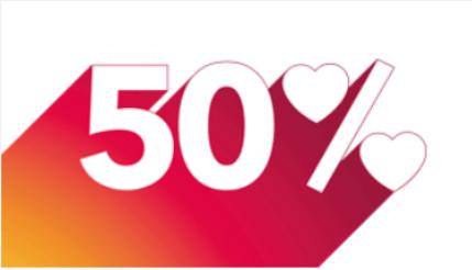 Nur heute: 50% Rabatt auf Sunrise Internet comfort (100MB/s) für 32.50 statt 65.-