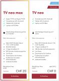 Neu: Sunrise TV neo 3 Monate gratis, nutzbar mit App und Computer sowie Replay Funktion