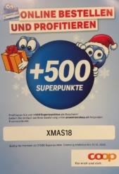 500 Superpunkte beim Supercard Prämienshop