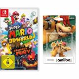 Super Mario 3D World & Bowser's Fury + amiibo Bowser Figur bei Amazon.de