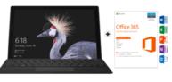 Microsoft Surface Pro mit Type Cover und Office 365 Home für CHF 899.- statt 949.-