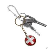 WM-Schlüsselanhänger mit Landesflagge für 1 Franken