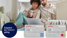 Miles & More Classic Kreditkartenduo mit 22K Startmeilen, 120 Franken Zattoo Gutschein