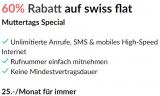 Mobileabo Yallo Swiss Flat für CHF 25 im Monat, Internet, Anrufe und SMS/MMS in der Schweiz unlimitiert