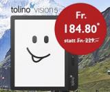 Tolino Vision 5 zum Nationalfeiertagspreis.