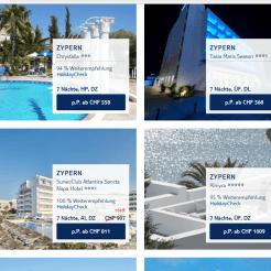 CHF 150.- geschenkt bei Reisen nach Zypern bei TUI