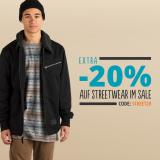 20% zusätzlicher Rabatt im Streetwear SALE bei Blue Tomato
