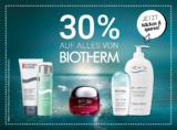 30% auf alles von Biotherm bei Import Parfumerie
