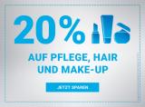 Mindestens 20% auf alles aus den Bereichen Pflege, Hair und Makeup bei Import Parfumerie