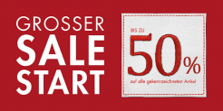 Sale-Start bei PKZ: Bis 50% Rabatt auf viele Artikel