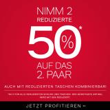 2 Sale Artikel kaufen – zusätzlich 50% auf den 2. Artikel erhalten bei Dosenbach