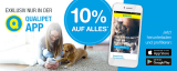 Qualipet: 10% Rabatt auf alles in der App