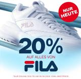 20% Rabatt auf alles von Fila bei Dosenbach