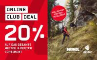 20% auf das gesamte Meindl und Deuter Sortiment bei Ochsner Sport