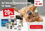 Fressnapf: 20% Rabatt auf Entspannungs-Artikel für Katzen und Hunde