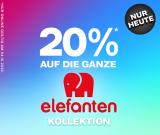 Dosenbach: 20% Rabatt auf die ganze Elefanten Kollektion (Kinderschuhe)