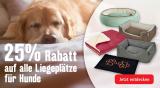 Fressnapf: 25% Rabatt auf alle Liegeplätze für Hunde und Katzen (nur heute)