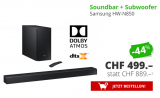 Soundbar + Subwoofer Samsung HW-N850 bei DayDeal im Deal of the Week