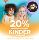 Dosenbach: 20% Rabatt auf alle Kinder-Artikel (exkl. Bestpreis)