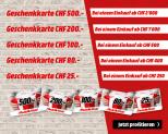 MediaMarkt Red Sunday – Geschenkkarte bis 25% des Einkaufbetrags