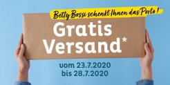 Betty Bossi: Gratis Versand ohne Mindestbestellwert