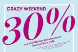 30% Rabatt auf die Marken Go Soft, Everest und Roberto Santi bei Vögele Shoes