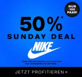 Dosenbach Sunday Deal: 50% auf ausgewählte Nike Sneakers (für Damen)