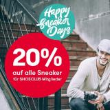 20% auf Sneaker bei Vögele Shoes, z.B. GEOX Sneaker Cognac für CHF 95.96 statt CHF 119.95