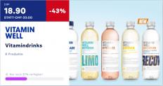 VITAMIN WELL Vitamindrinks (12 Stk. à 0.5l) günstig zu bestellen auf myshop.20min.ch