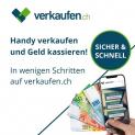 verkaufen.ch: CHF 25.- Gutschrift für den Verkauf deines (alten) Gerätes
