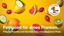 Migros Feelgood Food: Vom 6.–12. April Grapefruit oder 1 kg Rüebli für nur 1 Franken