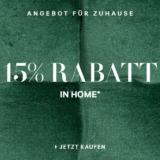 15% auf alles bei H&M Home und Gratisversand, z.B. Teppich mit Jacquardmuster für CHF 126.65 statt CHF 149.-