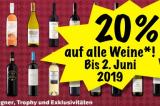 20% auf Wein bei Coop@home, z.B. Aargau AOC Blanc de Noir Wettinger für CHF 11.95 statt CHF 14.95