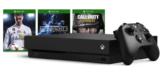 Xbox One X 1 TB-Konsole + 2. Controller + 1 Spiel im Microsoft Store