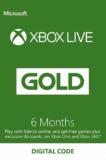 6 Monate Xbox Live Gold für CHF 21.75
