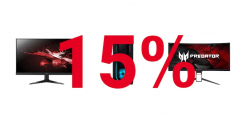 Nur heute – 15% Rabatt auf Acer-Bildschirme und PCs bei digitec – diverse Aktions-/Bestpreise