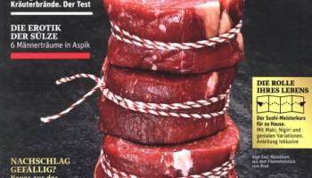 Beef! Magazin Jahresabo bei abo-direkt (Kündigung notwendig!)
